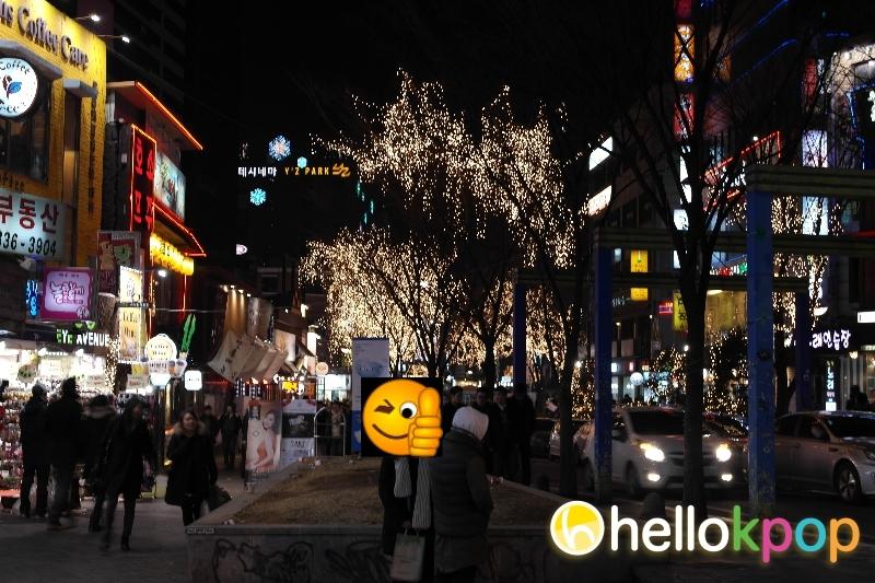 Hongdae is known for its indie scene in Korea. Picture: Adrian at hellokpop