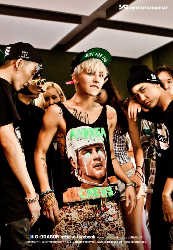 Pix For > Crayon G Dragon Album Cover