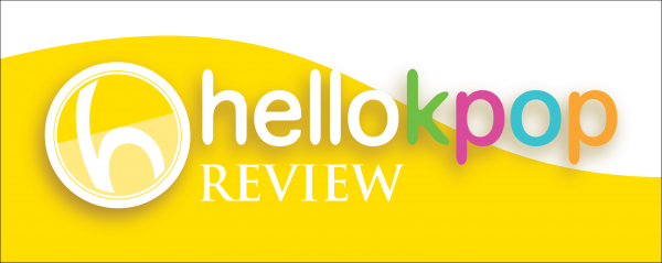 Colour transparent REVIEW Logo half background