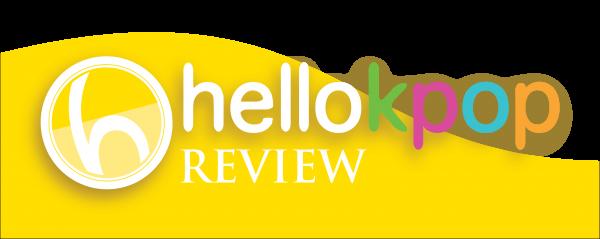 Colour transparent REVIEW Logo half background