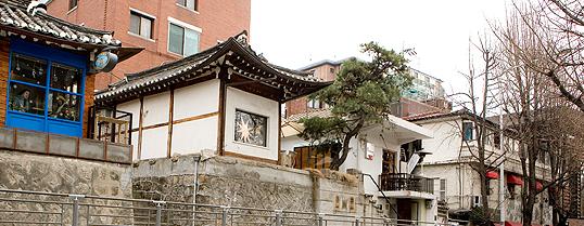Samcheongdong Picture: VisitKorea