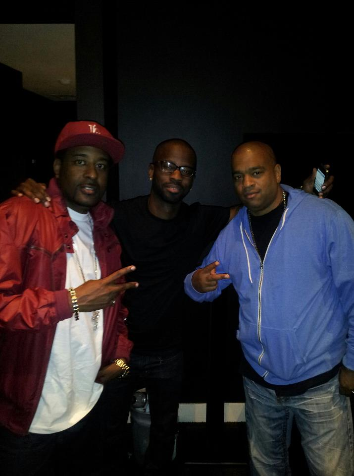NIDDY with Producer Duane Darock and Grammy Producer Brian Michael COX for JYJ