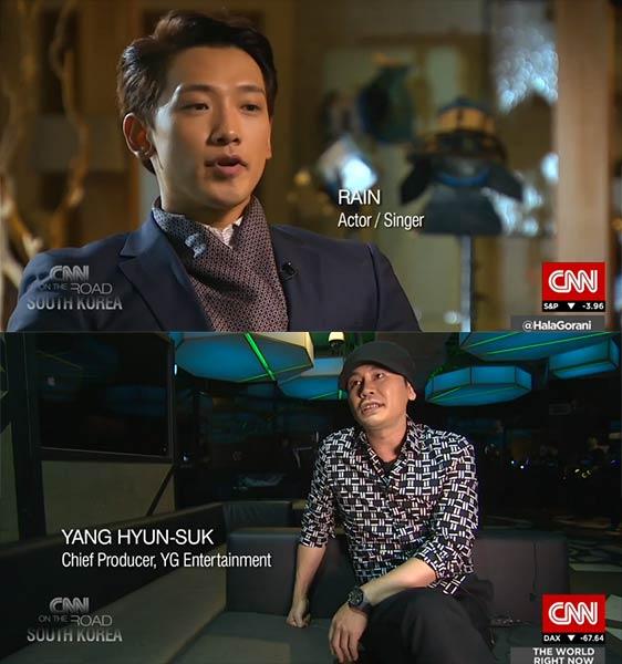 CNN Interviews Rain and Yang Hyun Suk about Hallyu Wave