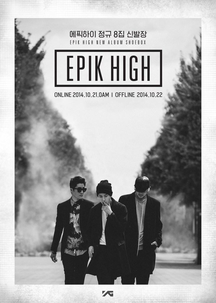 EPIK HIGH announces its 8th full length album 'SHOEBOX'