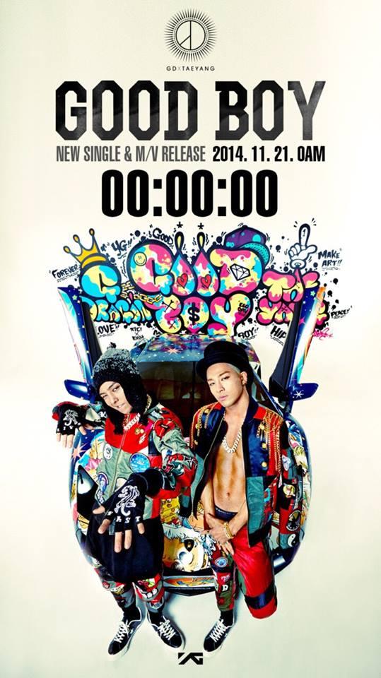 "G-Dragon and Taeyang ""Good Boy"" Promo. Pic: YG Life"