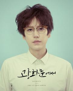 Kyuhyun's Teaser Photo: The 1st Mini Album. Pic: kyuhyun.smtown.com/Intro