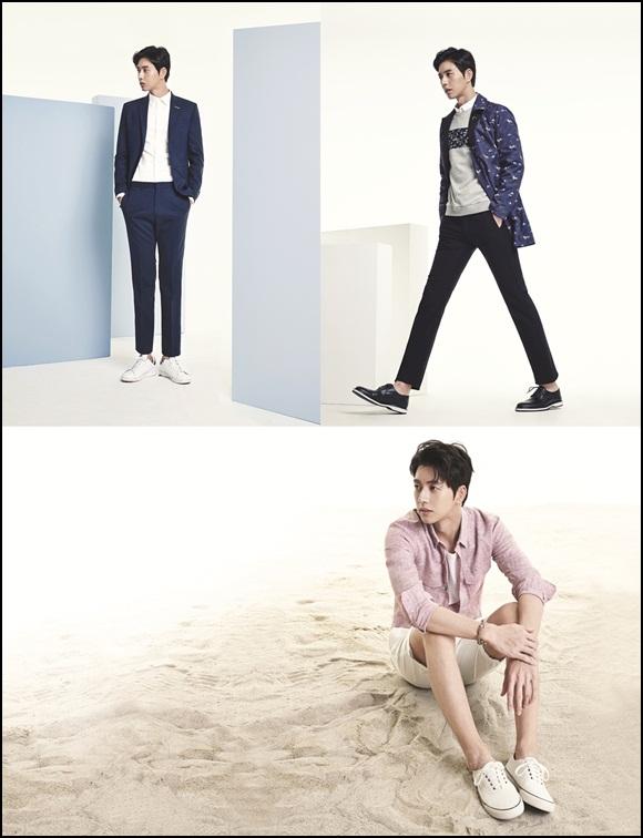 20150129 - Park Hae Jin chosen as Mind Bridge's new model
