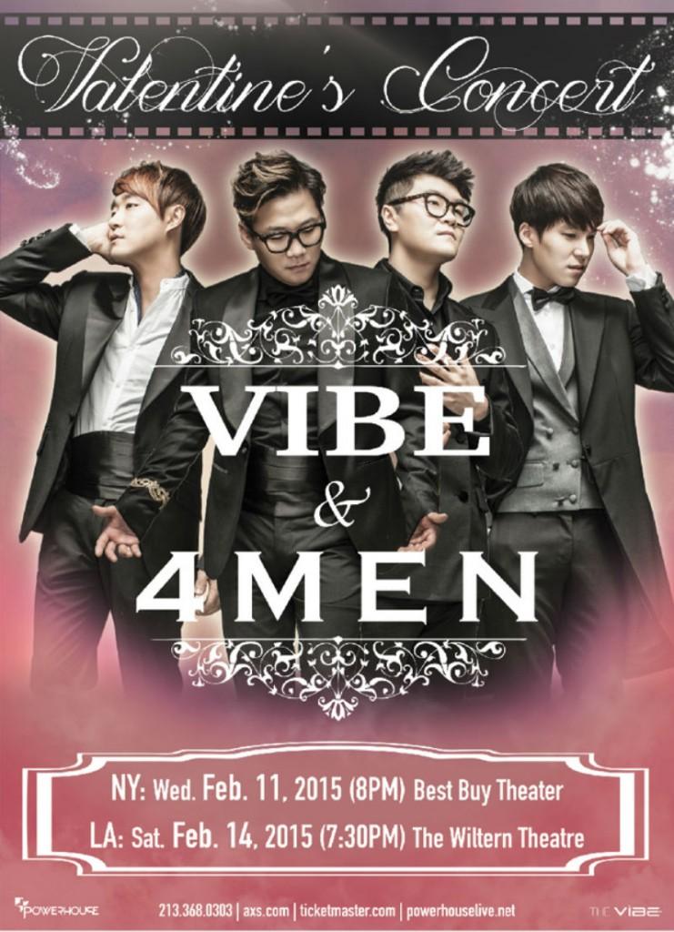 USEvent_VIBE_4MEN concert poster