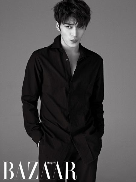 JYJ's JaeJoong is Charming for Harper's Bazaar