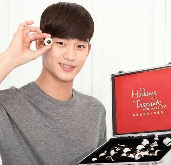 20150215_Kim Soo Hyun_ to_ Have_ Wax_ Figure_ at_ Madame Tussauds_1