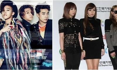 20150303 - 2NE1 and Big Bang (2015 YouTube Music Award)