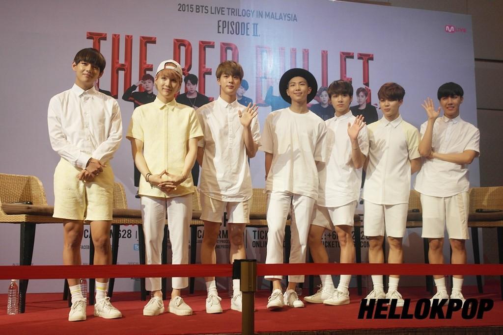 (left - right): V, Suga, Jin, Rap Monster, Jungkook, Jimin, J-hope