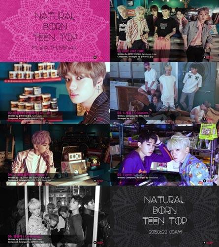 20150619 - TEEN TOP-Tracklist