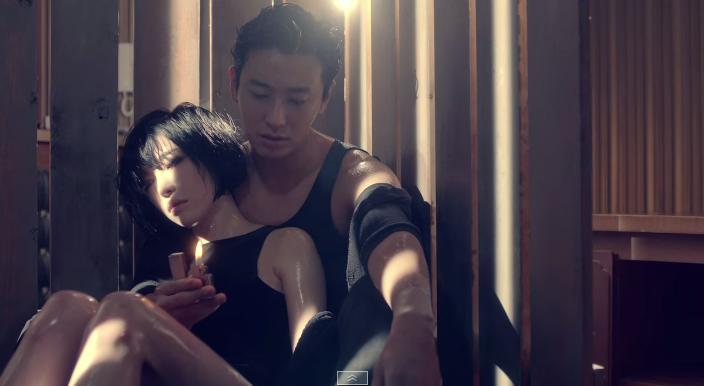 Joo Jihoon in Ga In's MV, Fxxk U