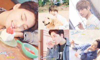 Seventeen's Love&Letter Photoshoot