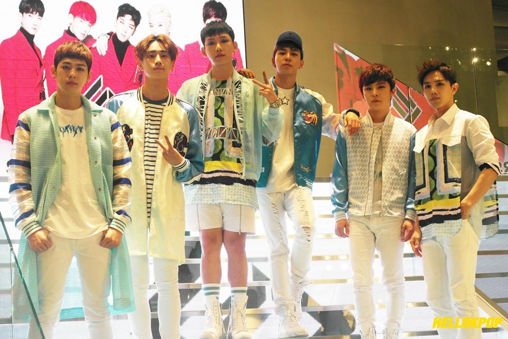 Right_left: Jung-kyun, Ron, Yuseong, Hightop, Kichun, Ron