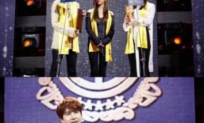 Kyuhyun, Super Junior, Victoria, Amber, Luna, Krystal, F(x), Kyuhyun, Victoria, At Gwanghwamun