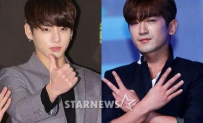 BTS, Jungkook, Shinhwa, Minwoo, Celebrity Bromance
