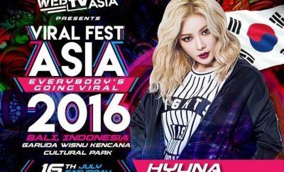 HyunA, Viral Fest Asia 2016,
