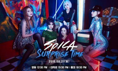 Secret Time, Spica , Spica Surprise Time,