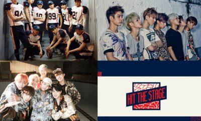HIT THE STAGE, BTS, EXO, GOT7