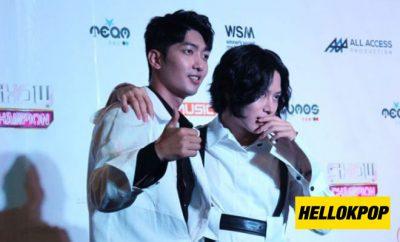 heechul and jungmo mbc show champ manila