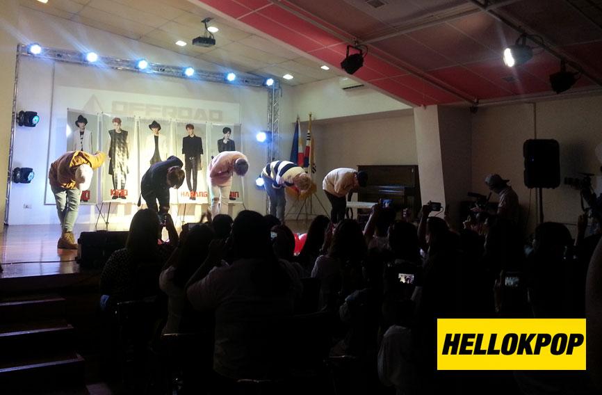 OFFROAD, OFFROAD in Manila, OFFROAD Fan Meeting Philippines