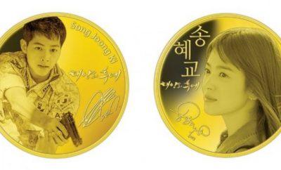 Song-Song Couple Medal, Song Joong Ki, Song Hye Kyo, Descendants Of The Sun
