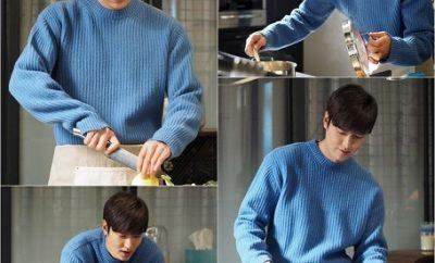 Lee Min Ho, Legend of the Blue Sea, Lee Min Ho Cooks