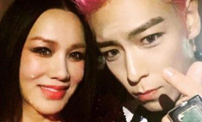 Uhm Jung Hwa, BIGBANG, T.O.P