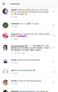 2NE1, Bom, Minzy