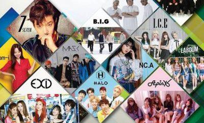 Eunji, Hani, MBC Music K-plus Concert, Se7en, SEVENTEEN, APINK, EXID,
