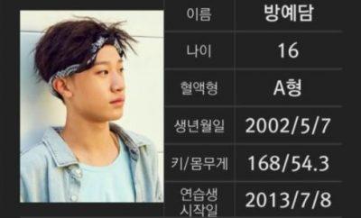 Bang Yedam YG Entertainment