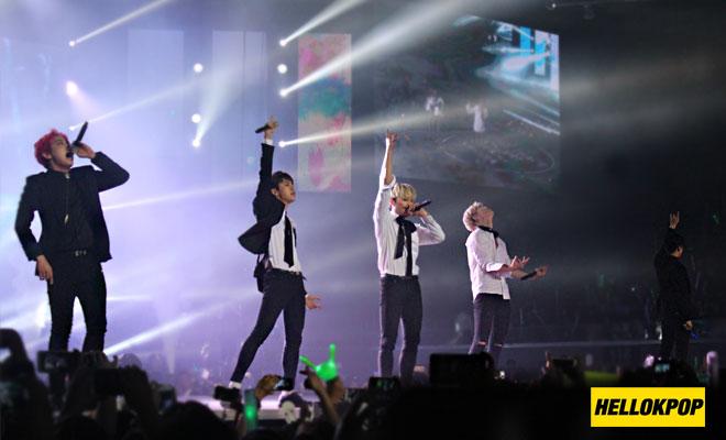 one k global peace concert bap group