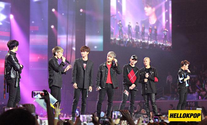 one k global peace concert btob