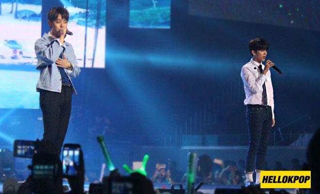one k global peace concert daehyun youngjae