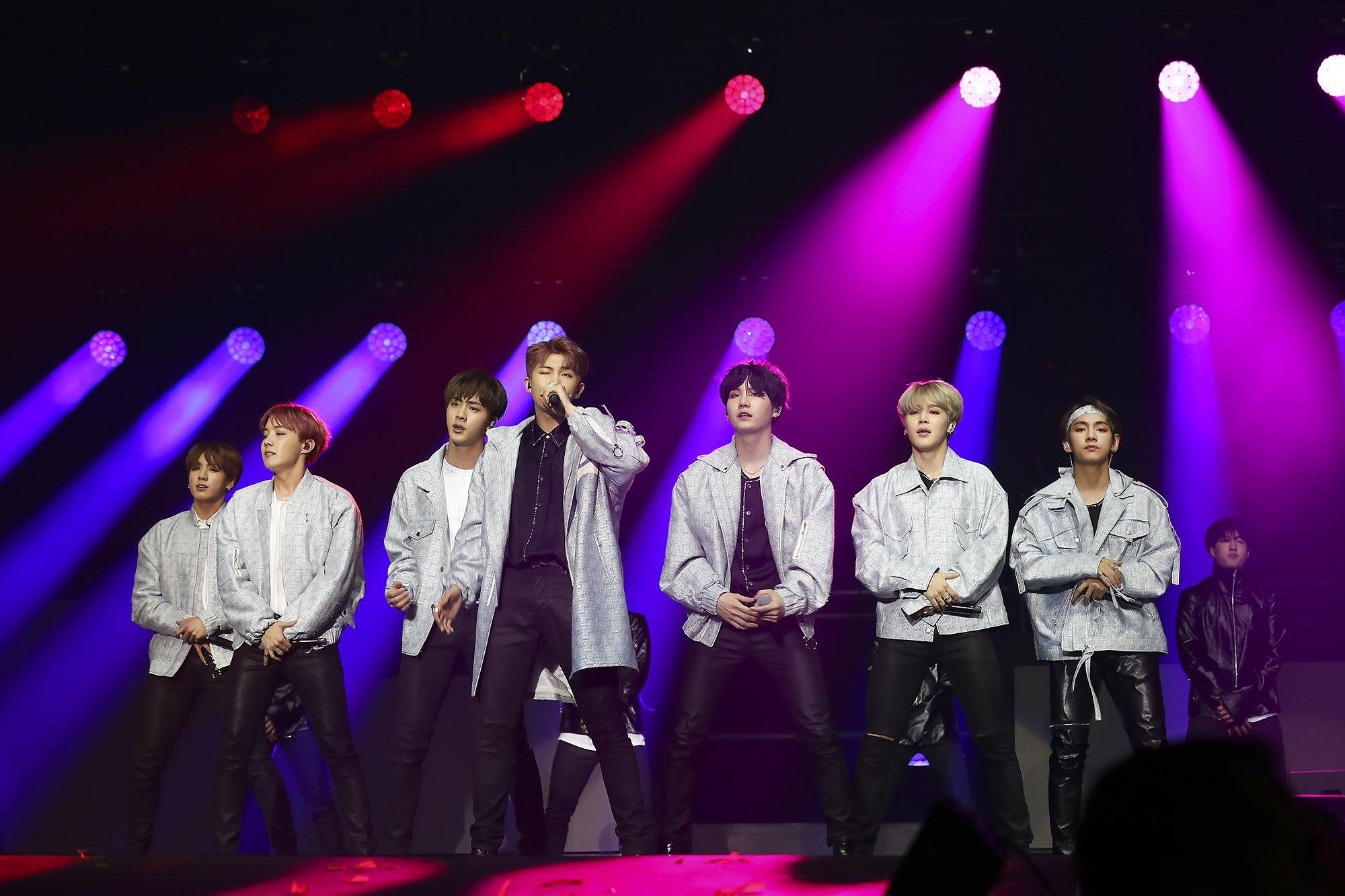 K-Pop boy band BTS touring Australia in May 2017
