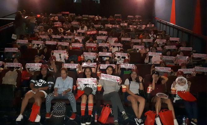 One Step block screening in Cinema 9, Gateway Cineplex