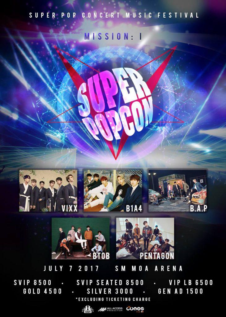 Mission 1: Super Pop Con 2017 poster