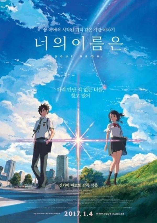 Ji Chang Wook, Kim So Hyun, Animated Film Your Name