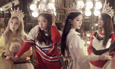 Eunjung, Hyomin, Qri, Jiyeon, T-ara , FTISLAND, ASTRO,What's My Name,
