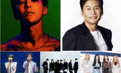 Yang Hyun Suk, BIGBANG,Seungri, CL, WINNER, iKON, BLACKPINK