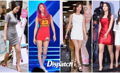 Hyeri,HyunA, Krystal, f(x), Yura, Girl's Day, Seolhyun, AOA, Nana, Soyu, Kang Min Kyung, Nine Muses, Kyungri, Davichi,