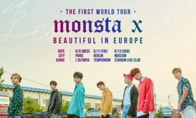 Monsta X, The First World Tour Beautiful in Paris, Monsta X, The First World Tour Beautiful in Seoul,