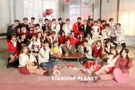 Christmas Day, Soyou, K.Will, Jeong Se-woon, Monsta X, Boyfriend, WJSN