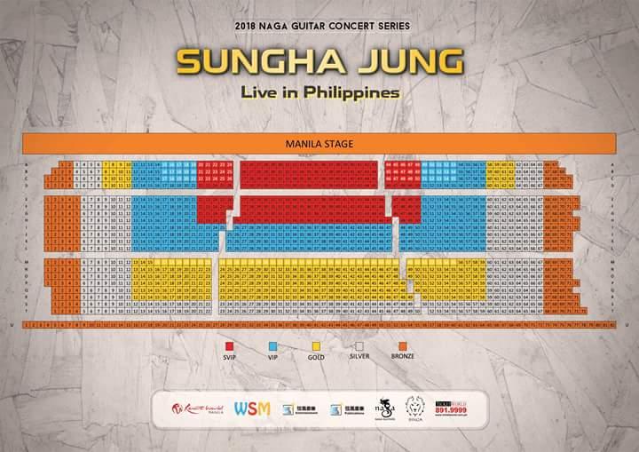 Sungha Jung, Sungha Jung Live in Manila 2018, Sungha Jung Live in Cebu 2018