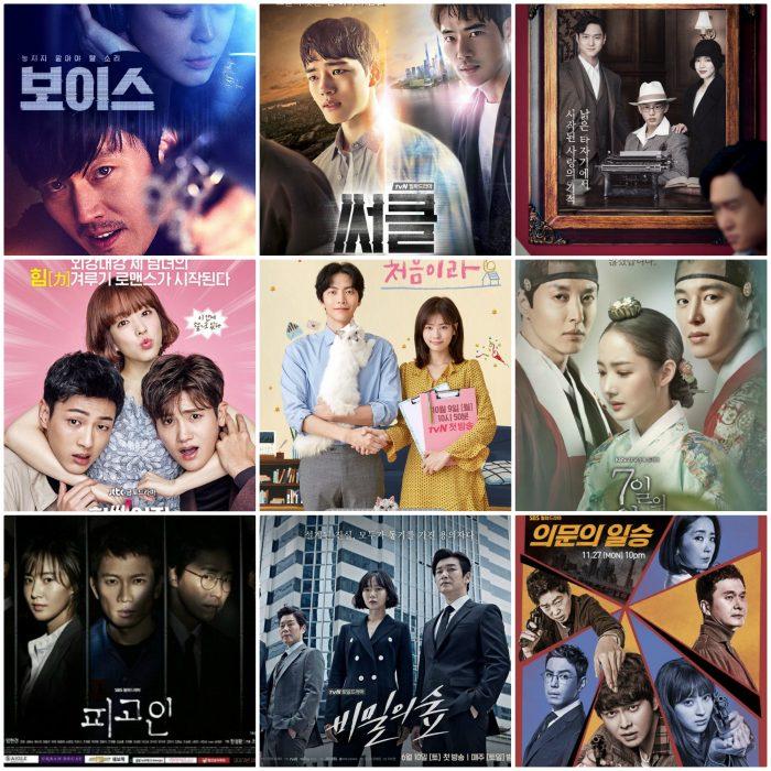 2017 Korean Dramas Recap