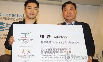 Olympic Winter Games PyeongChang 2018, BIGBANG, Taeyang, Louder,