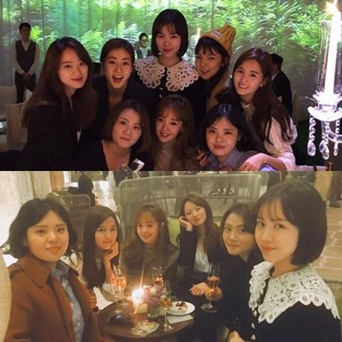 Sunny Girls on Taeyang and Min Hyo Rin wedding