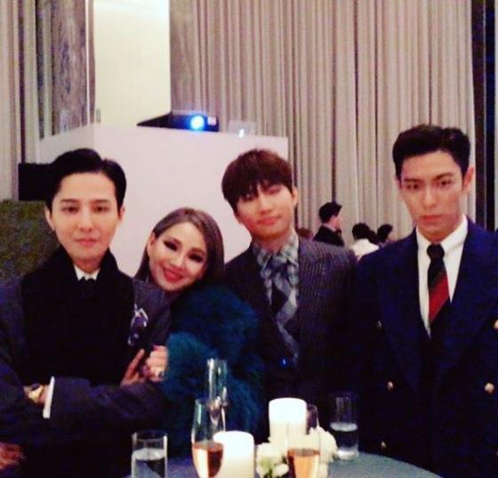 BIGBANG on Taeyang and Min Hyo Rin Wedding